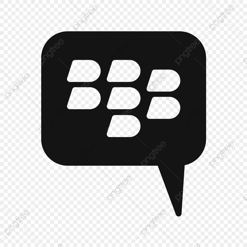 Blackberry Vector Icon, Telephone, Chat, Chat Icon PNG and Vector.