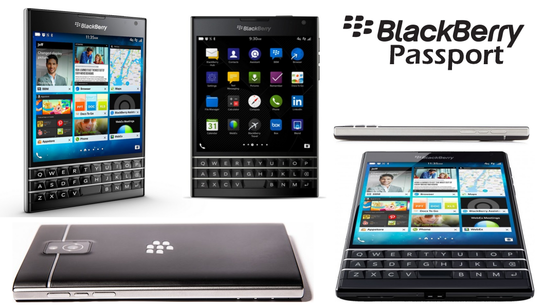 Blackberry Passport is unlike any other smart phone.