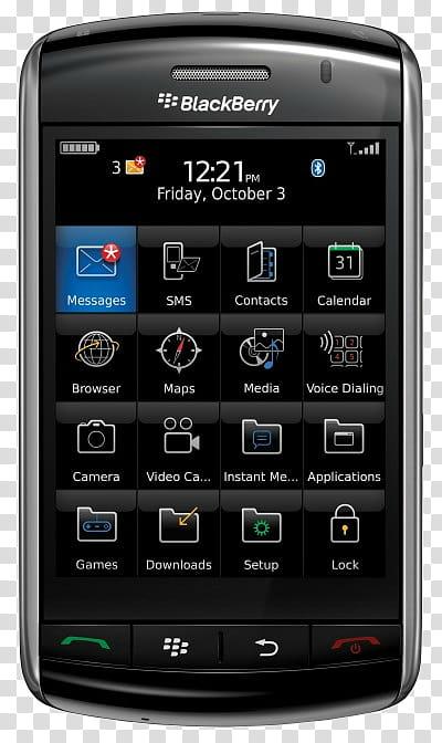 Celulares , black Blackberry smartphone transparent background PNG.