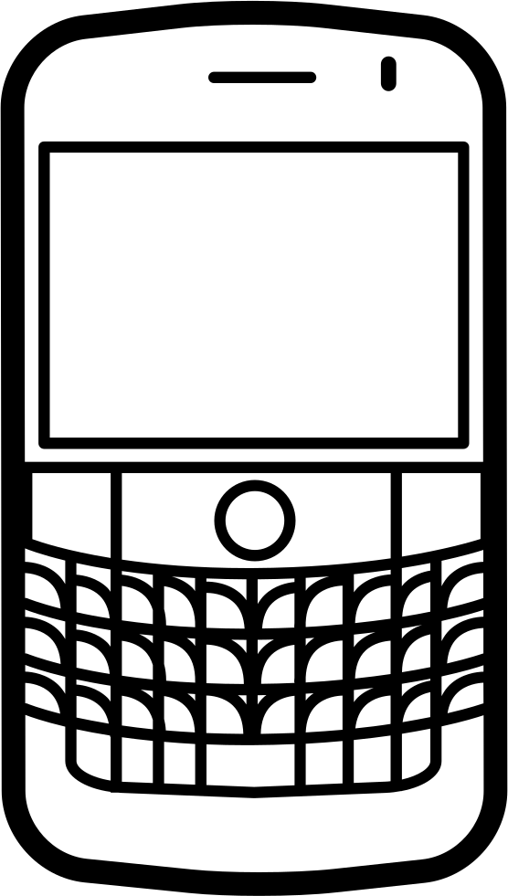 Popular Mobile Phone Model Blackberry Bold Svg Png Icon Free.