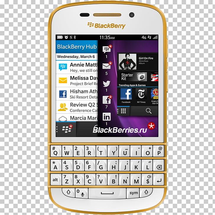 BlackBerry Z10 Smartphone 4G BlackBerry 10 QWERTY.