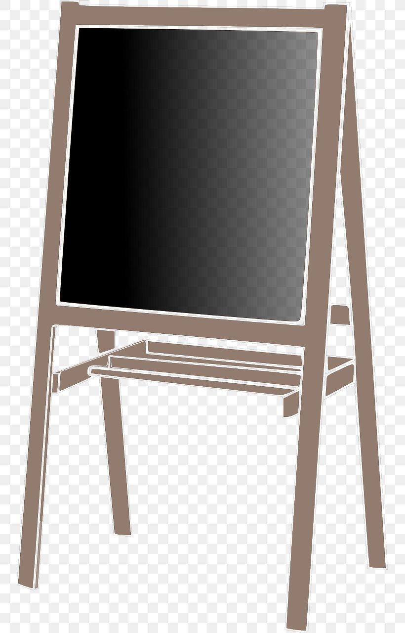 Blackboard Easel Art Clip Art, PNG, 751x1280px, Blackboard.