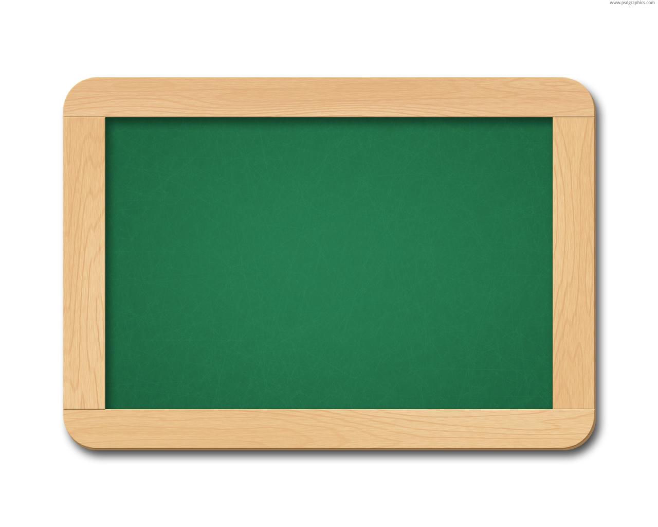 Blackboard And Chalk Clipart.