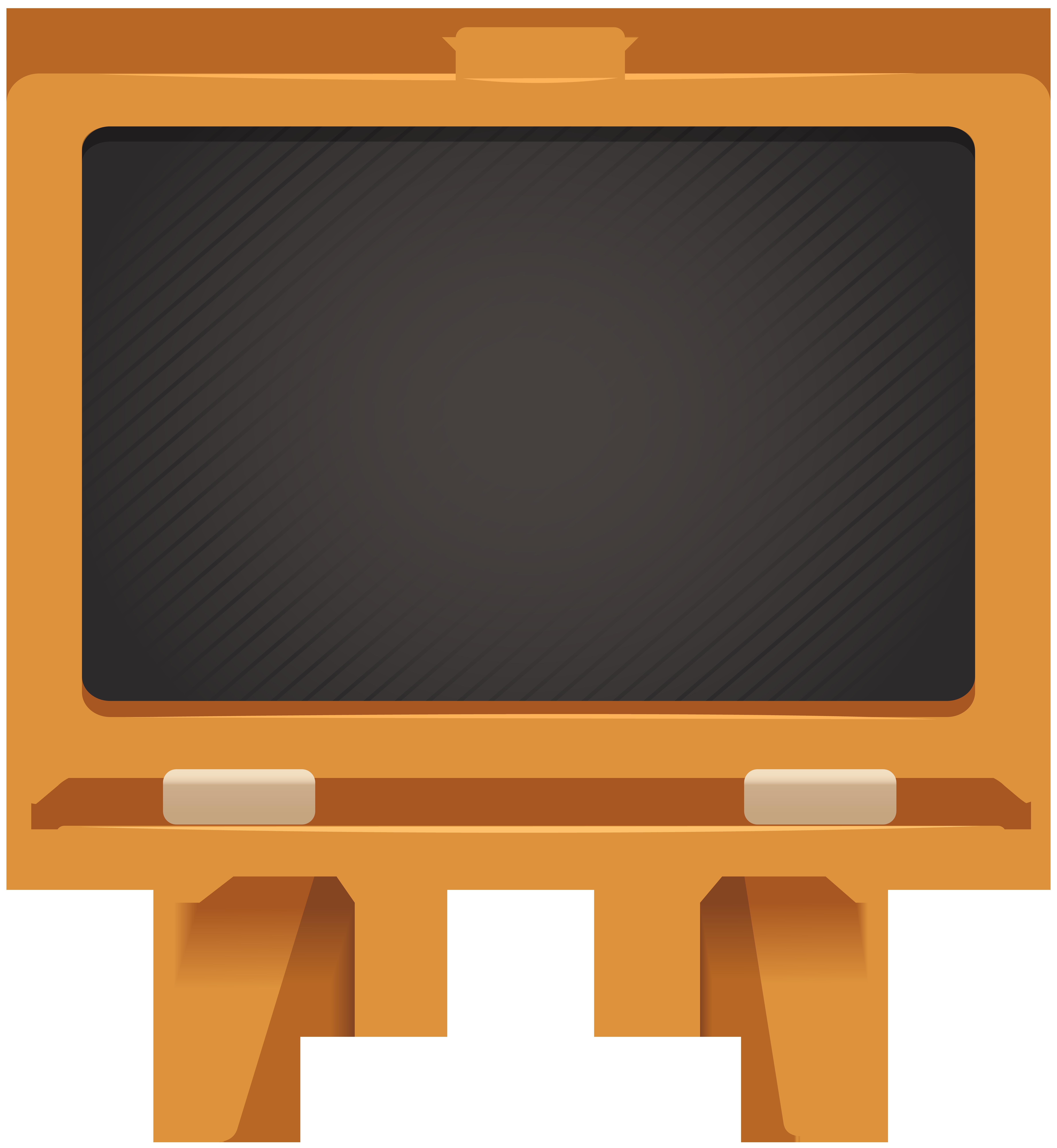 Blackboard PNG Clip Art Image.