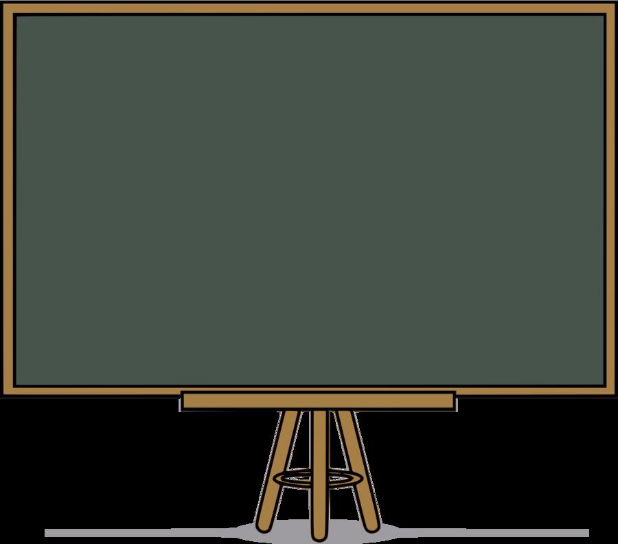 Blackboard Cartoon clipart.