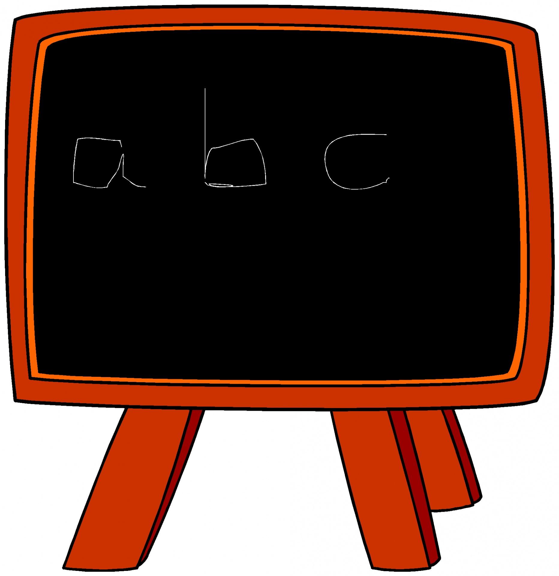 School Chalkboard Clipart.