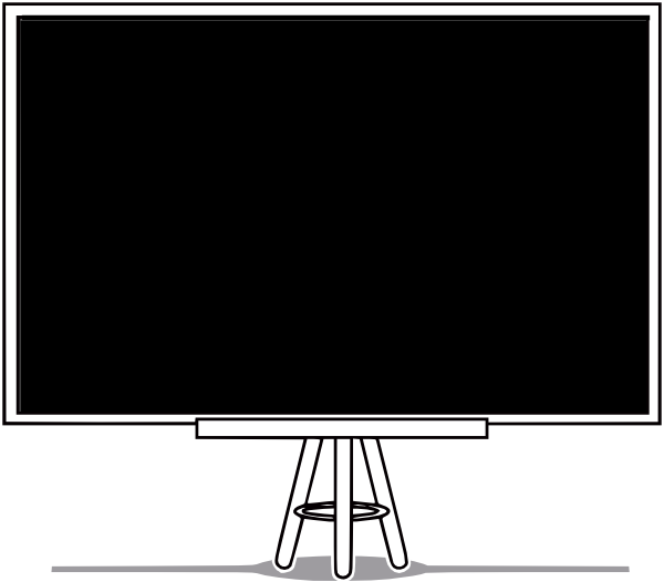Blackboard clipart black and white Transparent pictures on F.