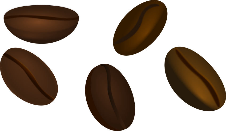 Free vector graphic: Coffee Beans, Beans, Coffee, Brown.