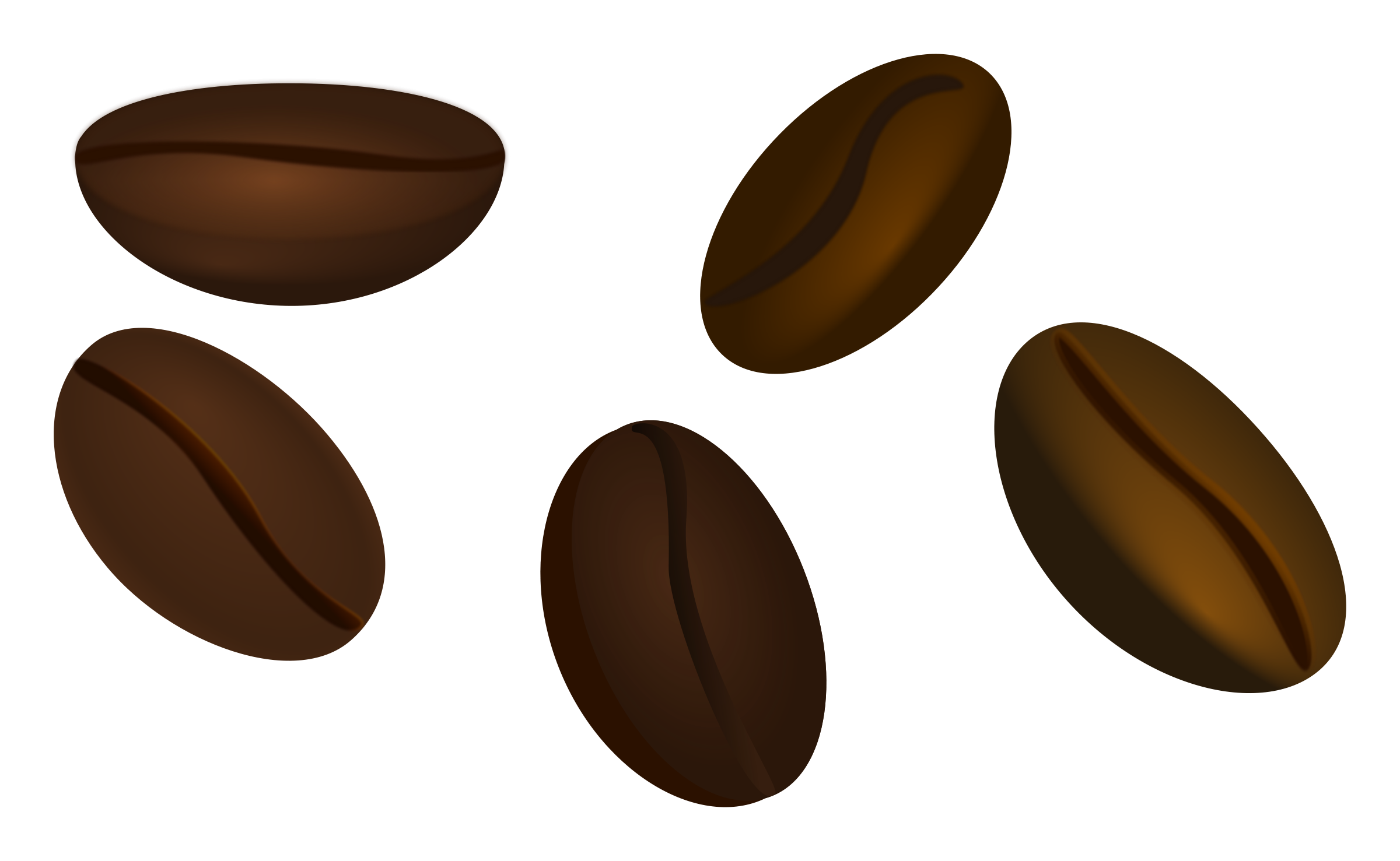 Coffee Beans Clipart.