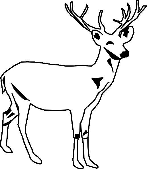 Black Bucks Clipart.
