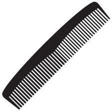 Black Comb Clipart#1866473.