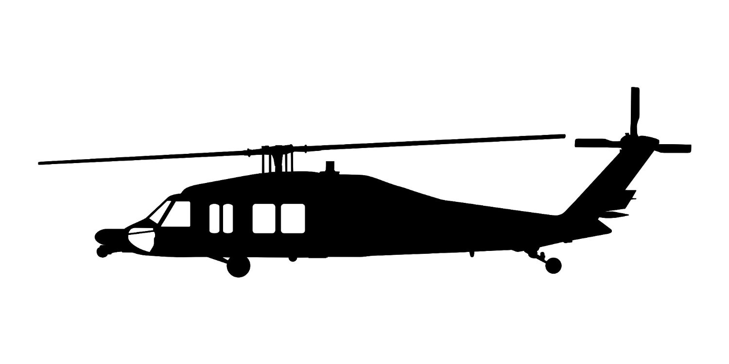 Blackhawk Helicopter Clipart.