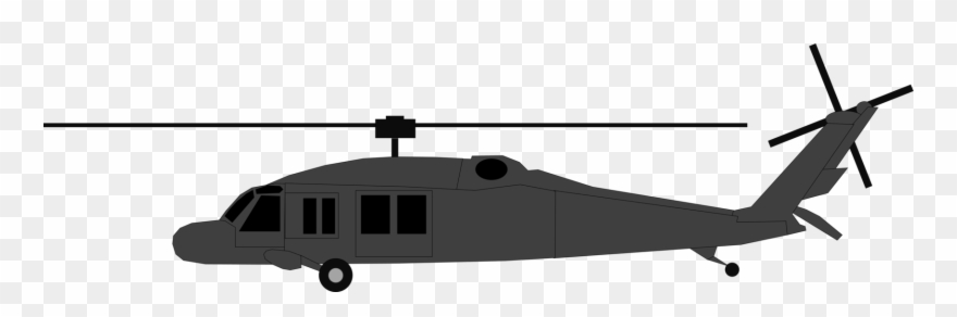 Helicopter Clipart Black Hawk Helicopter.