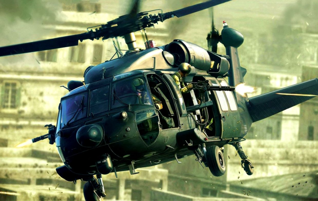 Army Night Hawk Military Helicopter War Hd Wallpaper.