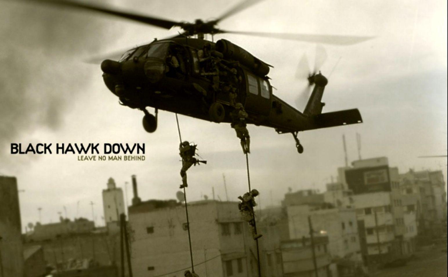 Black Hawk Hd Wallpaper.