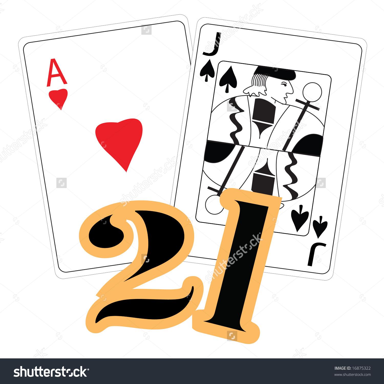 Blackjack Stock Vector 16875322.