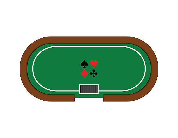 Poker Table Clipart.