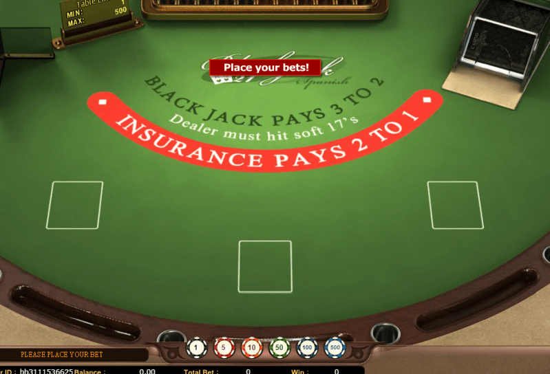Vegas Blackjack.