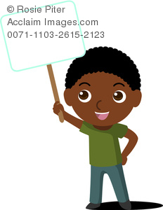 Black Child Clipart.