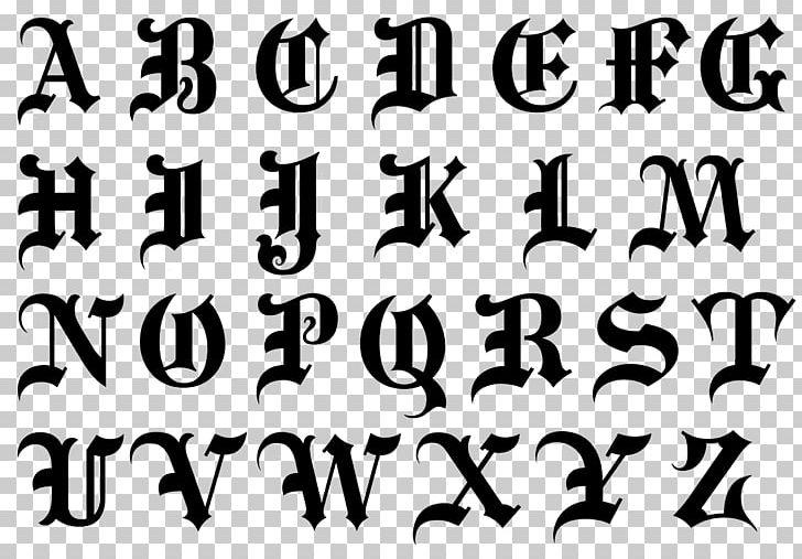 Alphabet Blackletter Script Typeface Cursive Font PNG, Clipart.