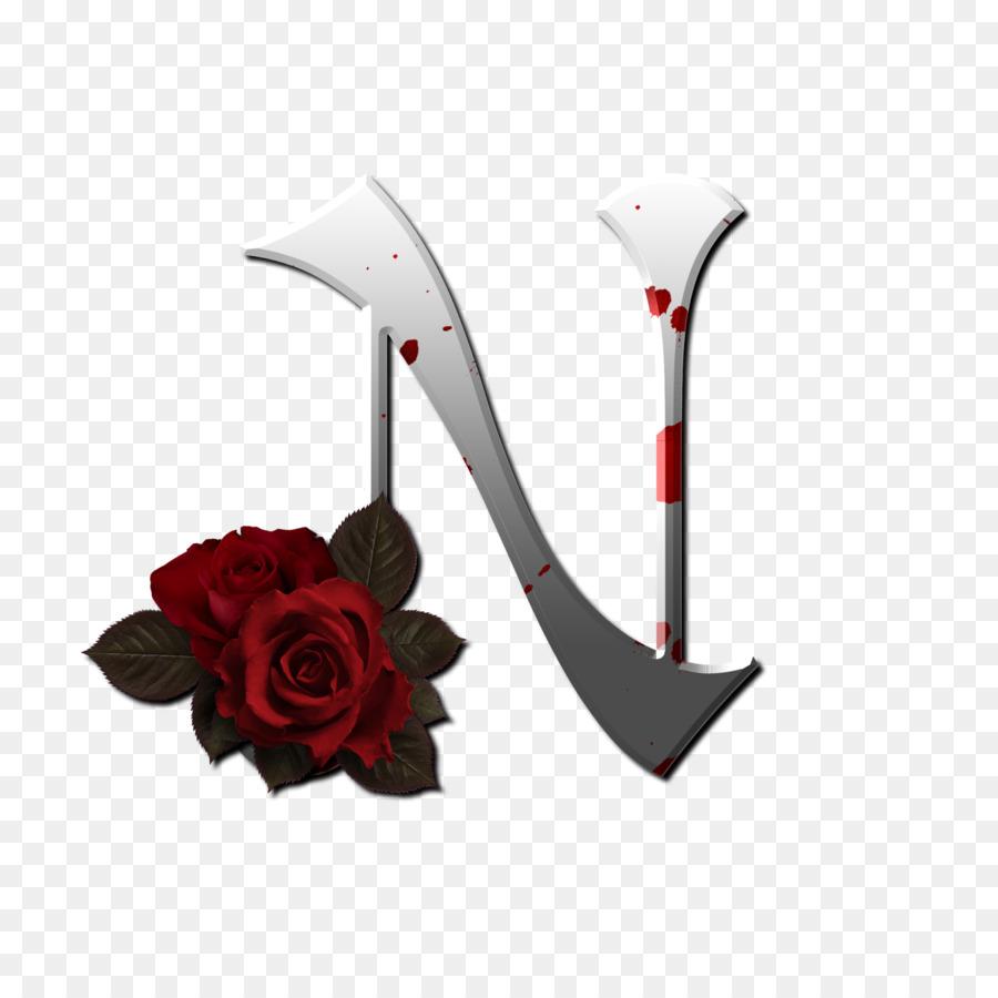Flower Alphabet png download.