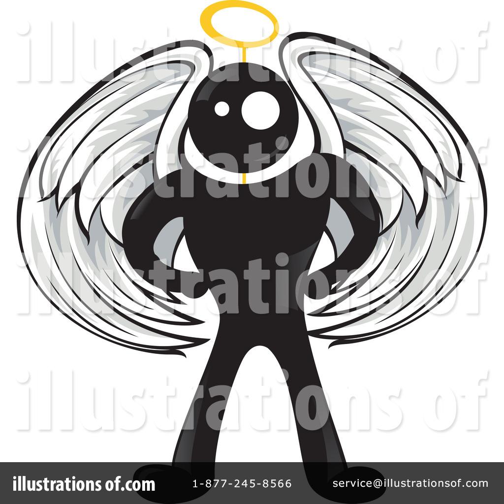 Blackman Character Clipart #29552.