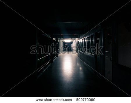 Spooky Door Stock Photos, Royalty.