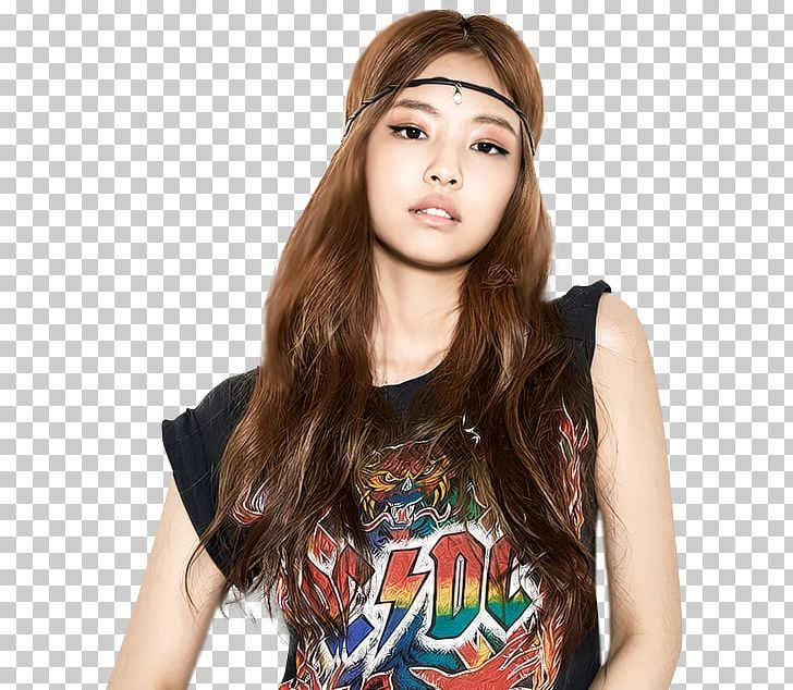 Jennie Kim BLACKPINK YG Entertainment Girl Group PNG.