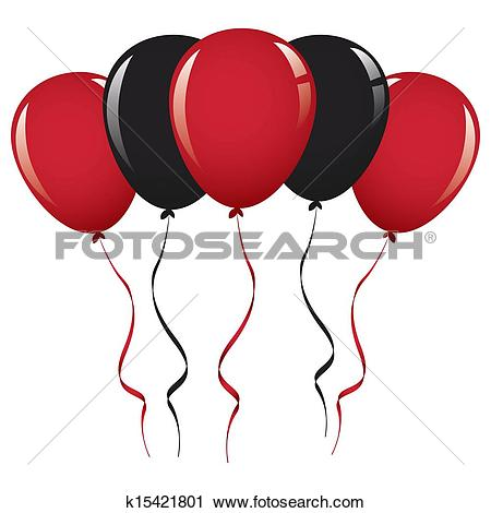 red black clipart #1
