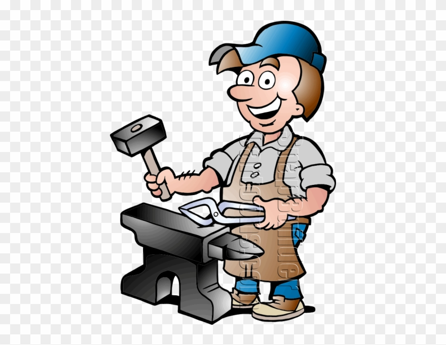 Our Helpers Blacksmith Clipart (#657595).