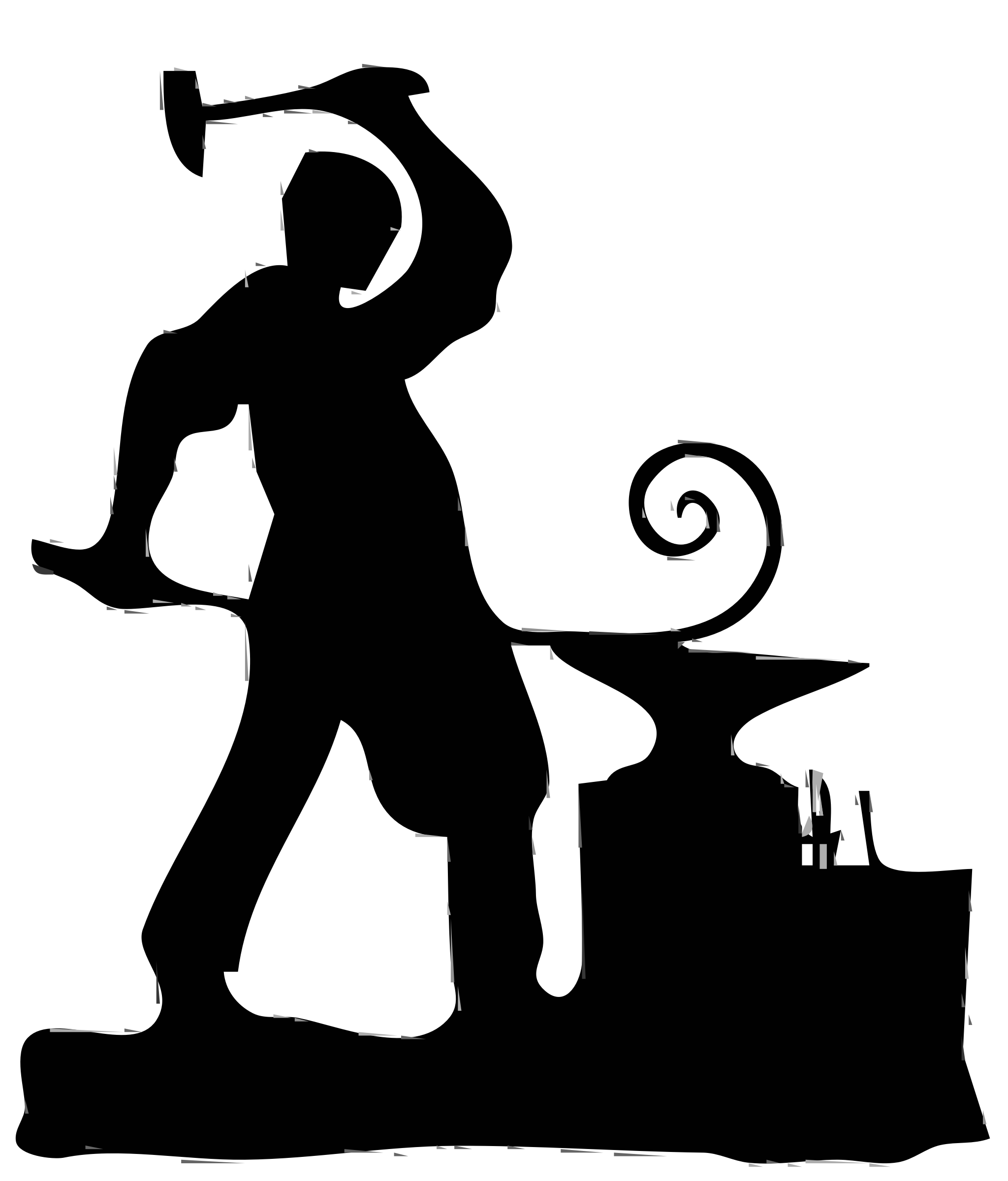 Blacksmith Clip Art.