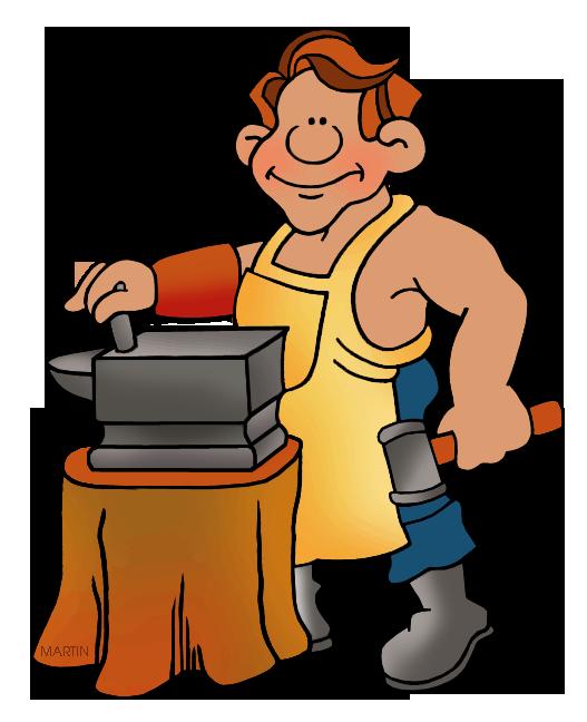 Blacksmith Clipart.