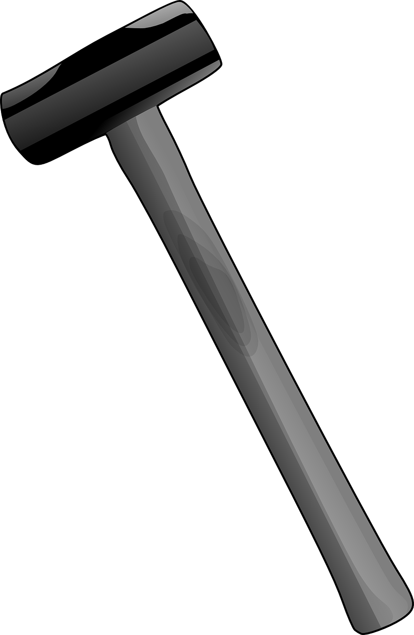 Hammer Tool Metal.