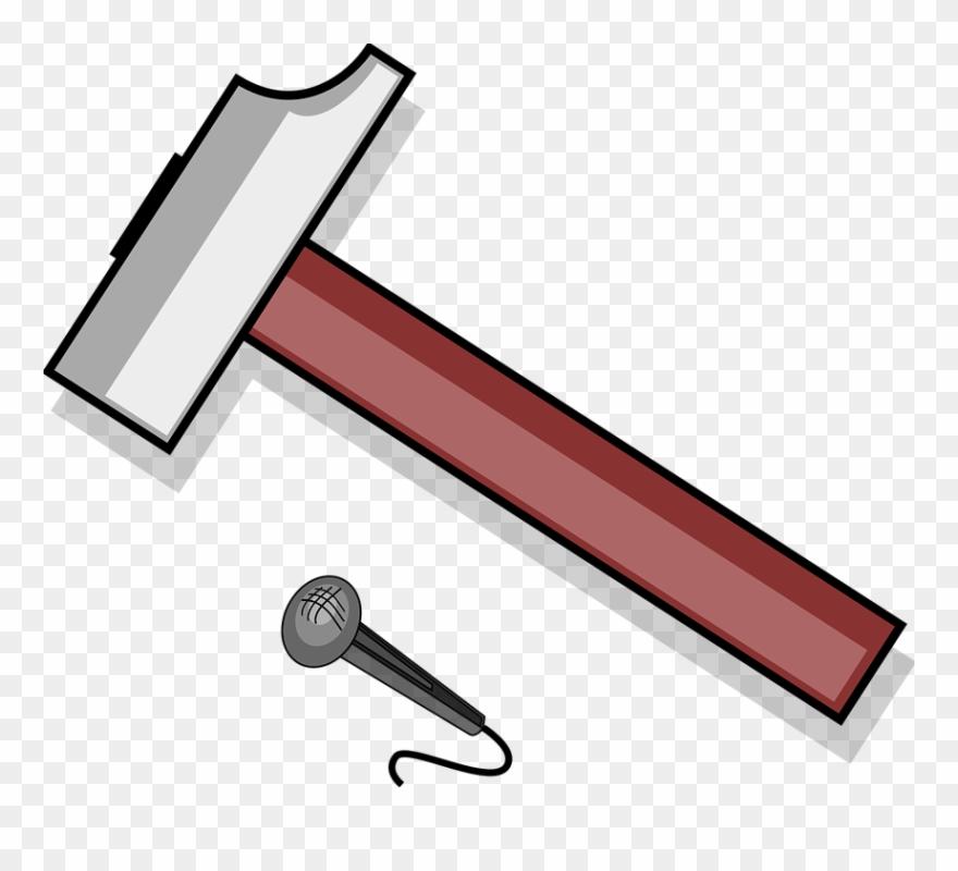 Blacksmith Hammer Clipart.