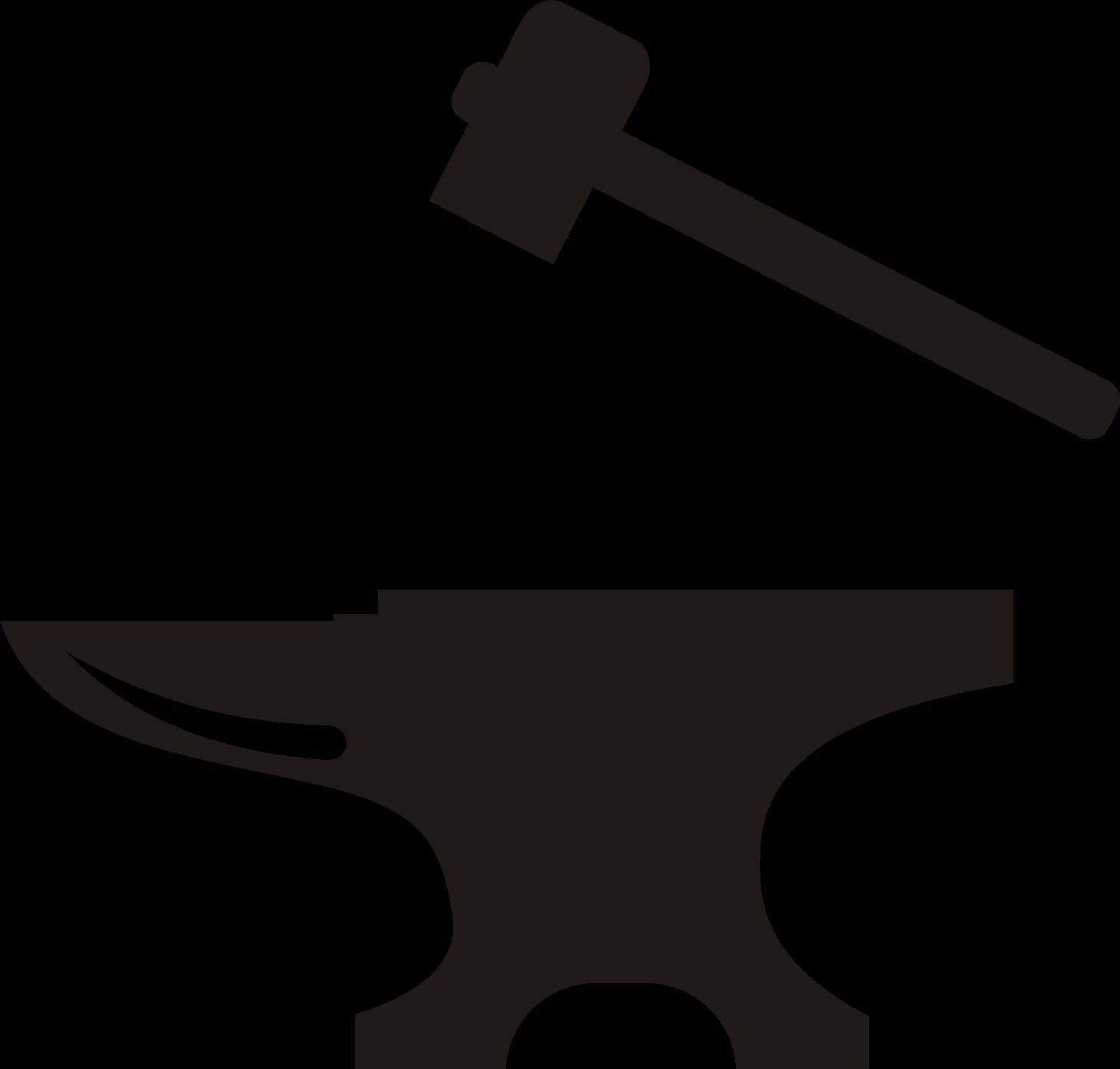 Anvil Blacksmith Hammer Clip art.