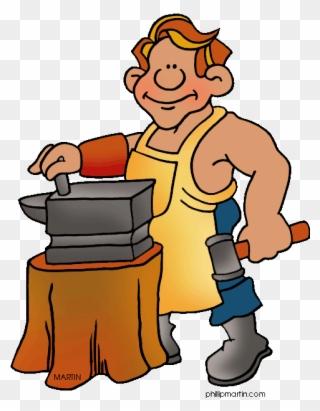Free PNG Blacksmith Clip Art Download.