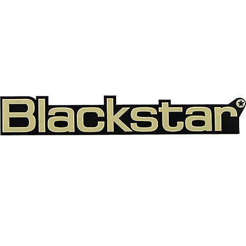 Blackstar Amp Logo, Large Cream for HT Series.