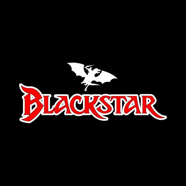 Blackstar Cartoon Logo.