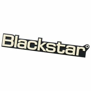 Details about Blackstar Small Cream Badge Amp Logo 8\