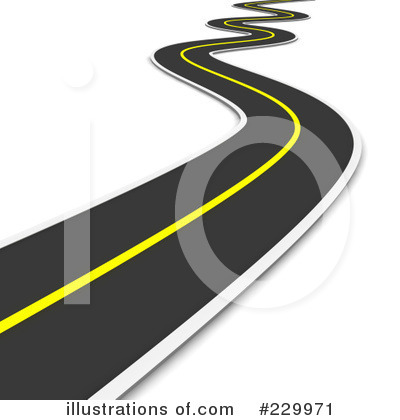 Curvy Road Clipart.