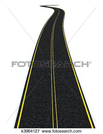 Picture of blacktop tarmac road k3964127.