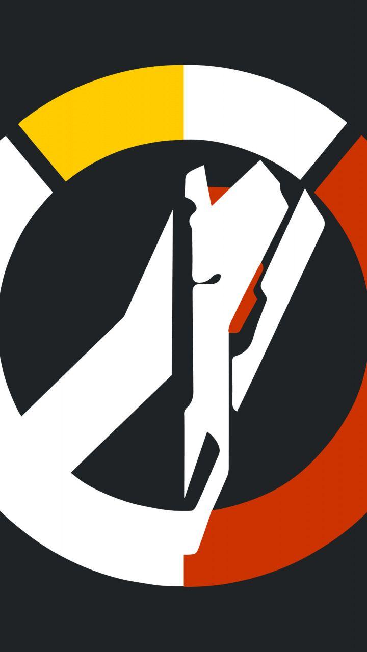Overwatch, blackwatch, video game, logo, 720x1280 wallpaper.
