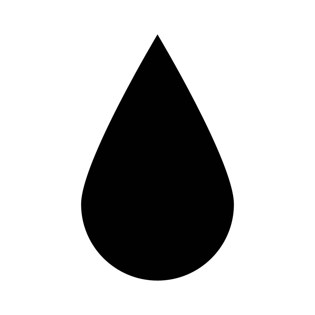 Water black clipart.