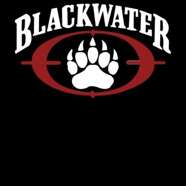 Blackwater USA Gold Men\'s Premium T.
