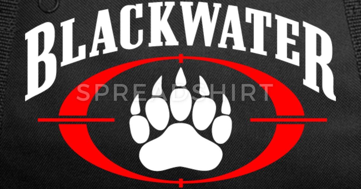 Blackwater Security Logo Duffle Bag.