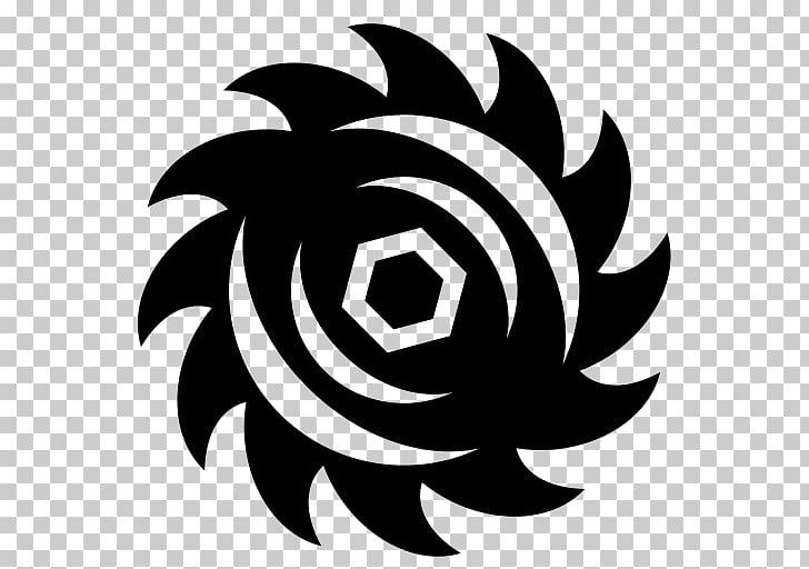 Computer Icons Symbol Circular saw Black & White, Blade PNG.