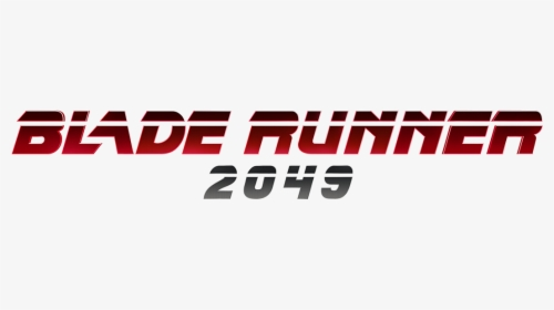 Blade Runner 2049 Logo PNG Images, Transparent Blade Runner.