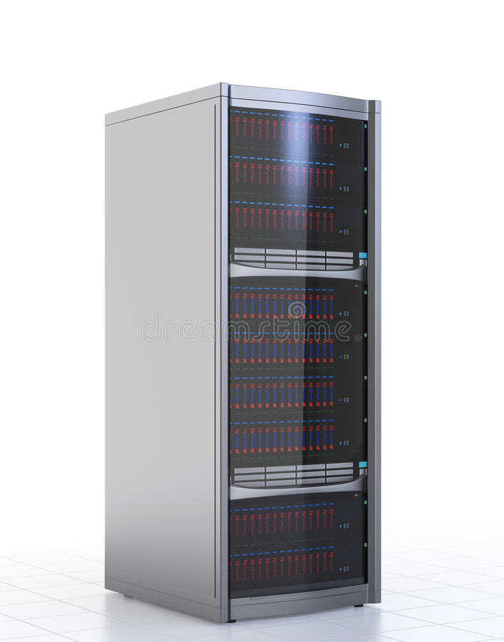 Blade Server Stock Illustrations.
