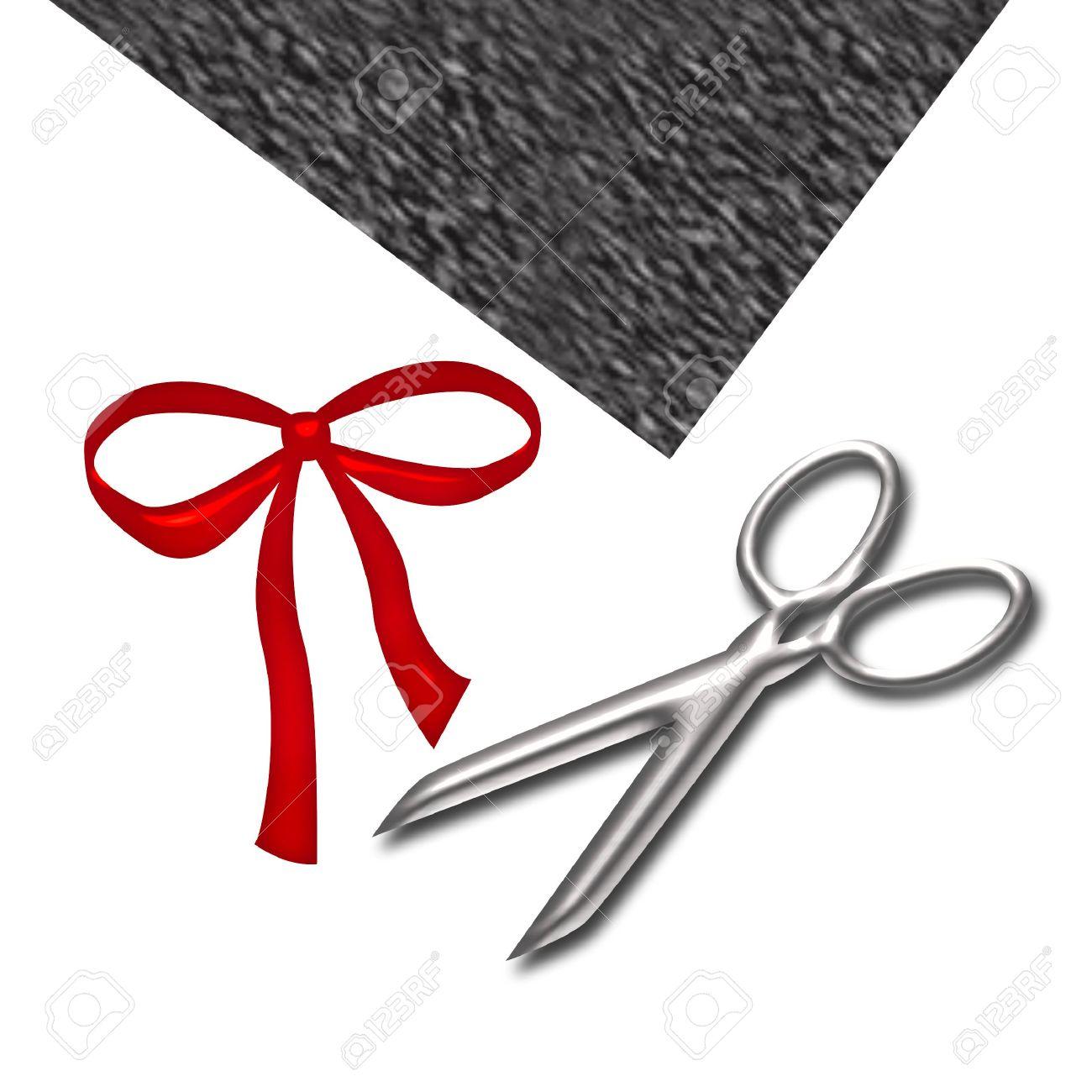 Craft, Supplies, Scissors, , Ribbon , White, Background,gray,sharp.