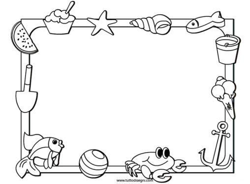 Black and white summer clipart 4 » Clipart Station.